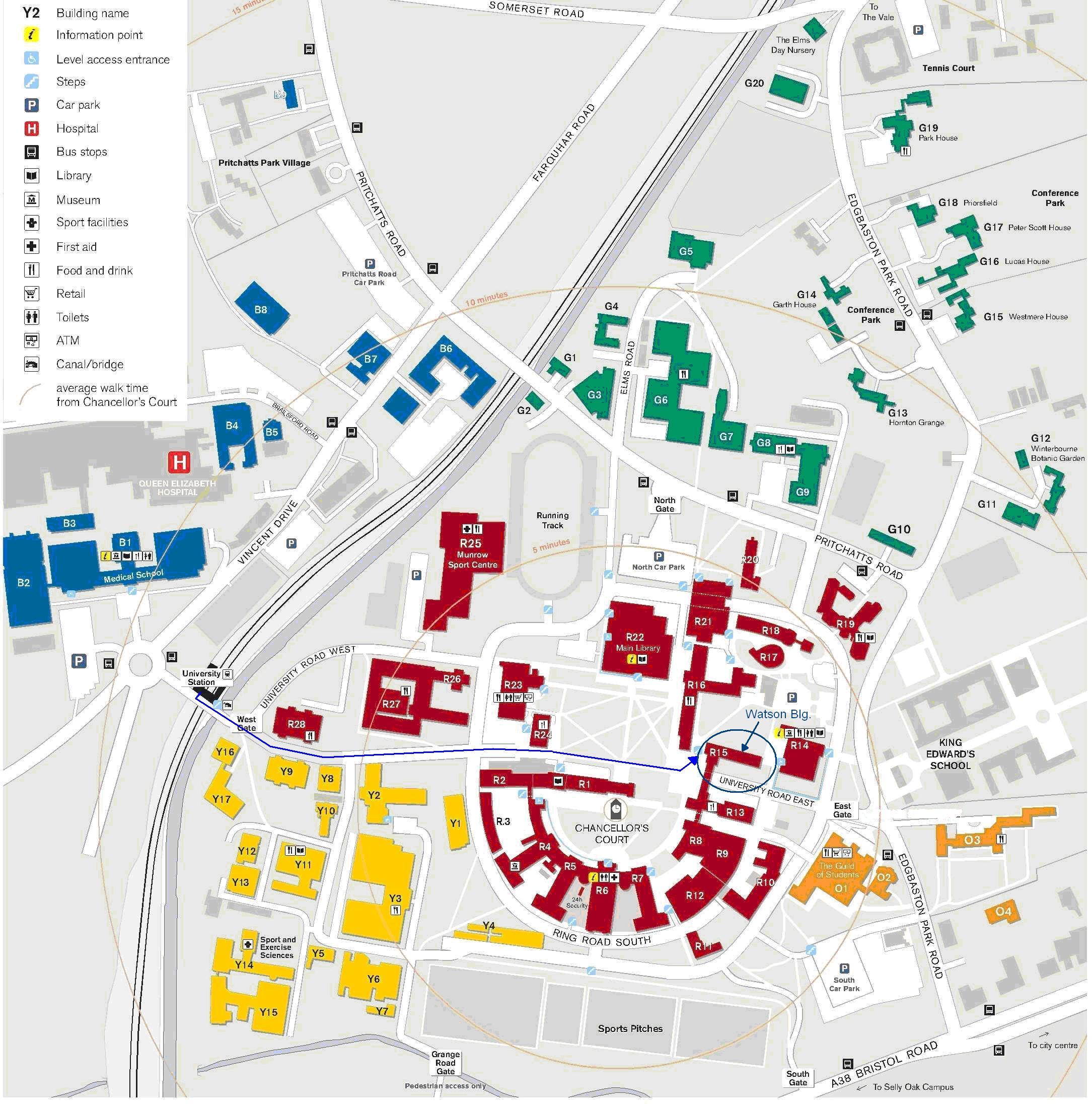 26 amazing Birmingham Uni Map bnhspinecom